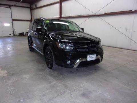 2019 Pitch Black Dodge Journey Crossroad AWD KDT2361 Motor Inn Auto Group