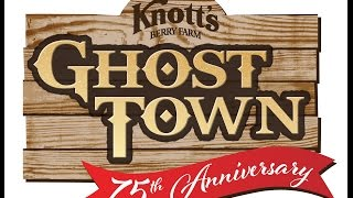 Knott's Ghost Town 75th Anniversary Video