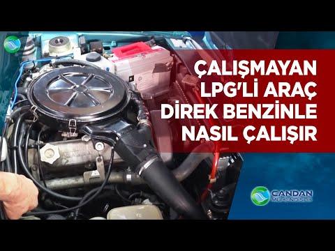 LPG'li Araçla Yolda Kalma // Direk Benzinle Nasıl Çalışır !!