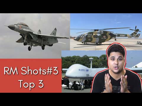Top 3| MiG 29 K technology transfer, HAL helicopter with Safran Engine, Heron TP or MQ-9 Reaper?