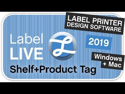 How To Create A Shelf Tag Using Label LIVE Thermal Printer Software