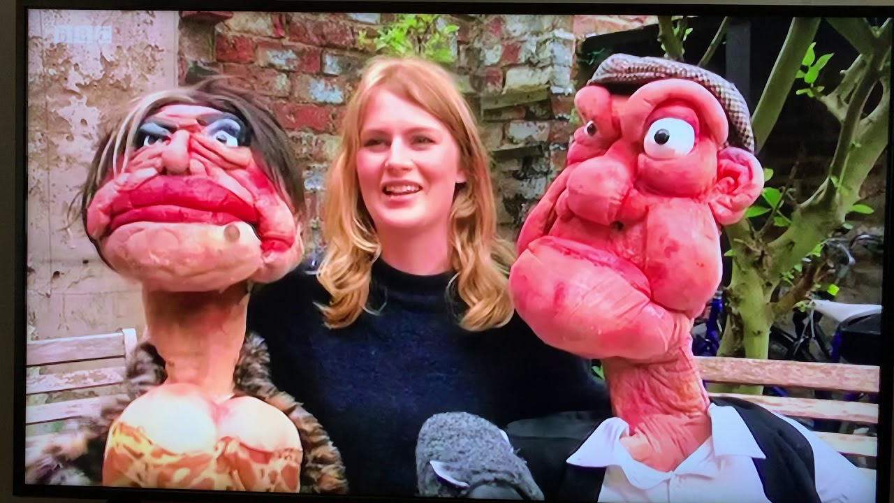 Puppets on the Telly! BBC NEWS!