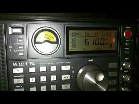 Radio HABANA CUBA - English - 6100 KHZ - 05:32 UTC