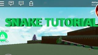 Comment faire un serpent à Roblox Construire un bateau pour le trésor!
