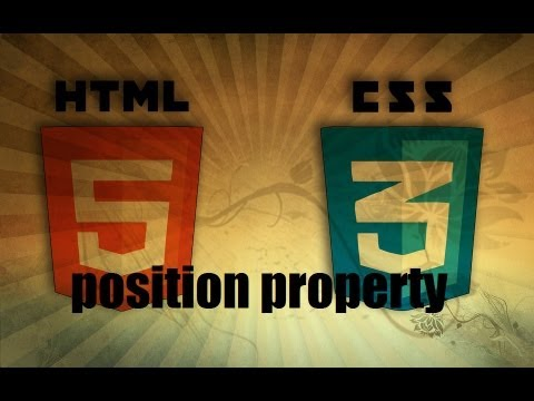 Dreamweaver Tutorial - CSS Position Property