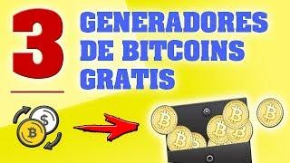 3 Generadores De Bitcoins Gratis Aprovecha 2017-2018✔