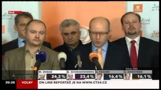 ČSSD k výsledku prvního kola volby prezidenta republiky - 12.1.2012