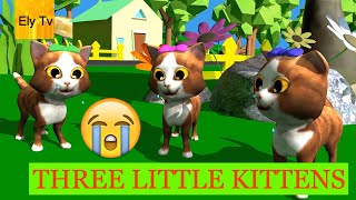 Three little kittens nursery rhyme – three little kittens they lost their mittens