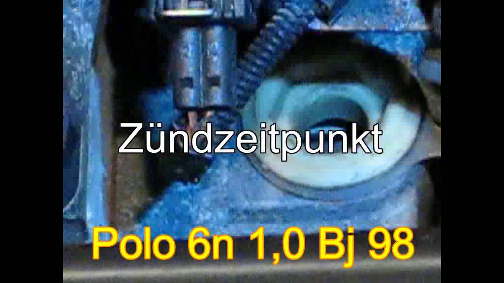 z ndzeitpunkt polo 6n 1 0 motor all youtube. Black Bedroom Furniture Sets. Home Design Ideas