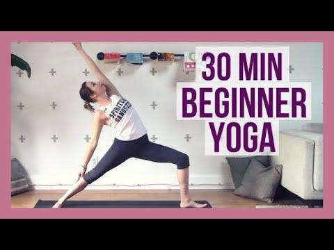 Beginner Yoga - Yoga Foundation Flow for Strength & Flexibility {30 min}