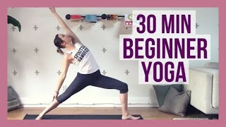 30 min Beginner Yoga - Full Body Yoga for Strength and Flexibility