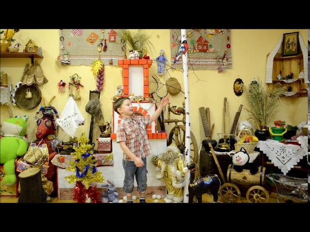 Изображение предпросмотра прочтения – КириллТинтунин читает произведение «Снежок» Ф.И.Тютчева