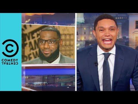 Trump's Twitter Beef With LeBron James | The Daily Show With Trevor Noah