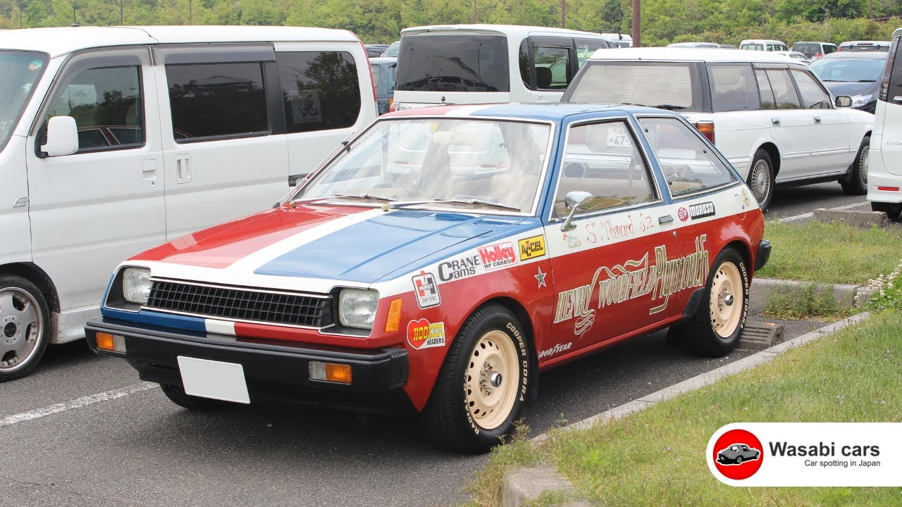 Dressed in Drag - A 1978 (or 1979) Mitsubishi Mirage / Plymouth Champ / Dodge Colt - YouTube