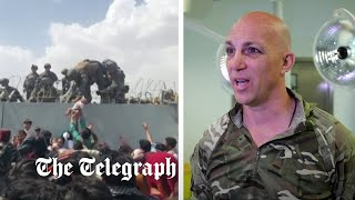 video: Watch: 'I nursed baby passed over Kabul airport razor wire', British Army surgeon reveals