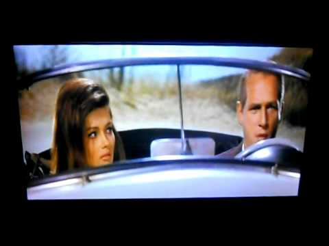 60's hotty Pamela Tiffin in a scene from the movie Harper, (with Paul Newman)