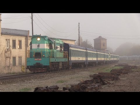 Вагоны дизель-поезда ДР1А на металлолом 2 / DR1A DMU cars to scrap metal 2