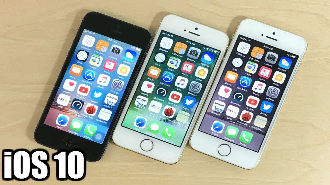 Iphone 5 Vs Iphone 5s Español