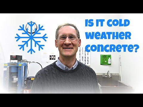 Is it cold weather concrete?