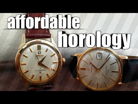 Is your Vintage Watch Dirty? Omega Constellation and Seamaster 600 + How to Clean Your Vintage Watch