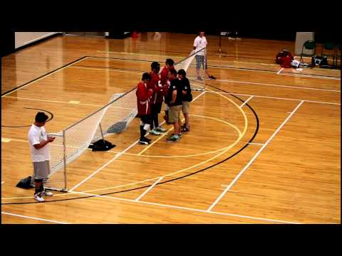 IBSA World Youth Goalball Championship 2015 - Canada vs Sweden 1st Half