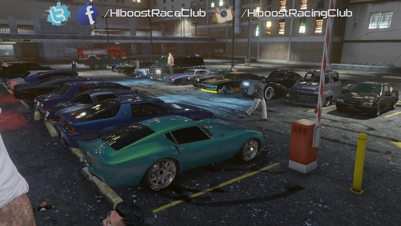 Grand Theft Auto V Online Classic Car Meet Turbo Ruiner