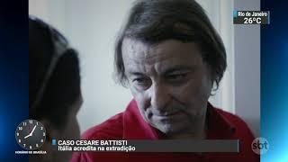 Justiça Federal determina soltura de Cesare Battisti | SBT Brasil (06/10/17)
