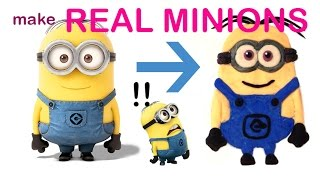 How to make Minions / EASILY