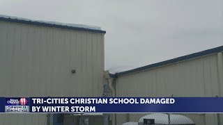 Snow damage closes Tri-Cities Christian School in Blountville for rest of week