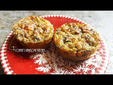 chickpea #2 - VEGAN QUICHÉ  | NO EGG | COME COOK WITH ME | Connie's RAWsome kitchen
