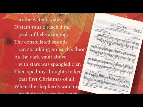The Philadelphia Singers: David Hayes Talk on Christmas with TPS 2012