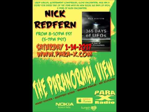 The Paranormal View Nick Redfern  1-14-17