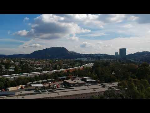 DJI Spark Footage San Fernando Valley