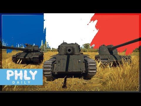 NEW French Tanks   ARL-44, AMX-50 Surbaisse & MORE (War Thunder 1.75 Tanks)