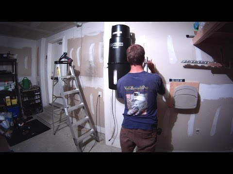 Vacuum System Re-Plumb