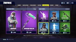 FORTNITE STORE UPDATE 5/12/18 SICK NEW SKIN ABSTRAKT!! 4K HDR BECOME A YOUTUBE SPONSOR!!