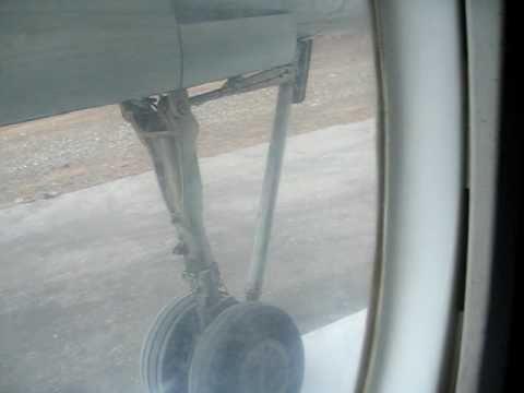 PIA Fokker F27-200 Take-off from Saidu Sharif, Pakistan