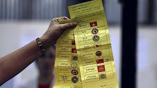Polls close in Myanmar