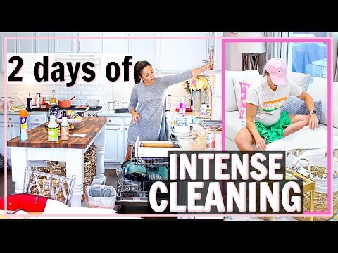 😵2 DAYS OF EXTREME CLEANING!🏡ULTIMATE Whole House CLEANING MOTIVATION!🤦🏻‍♀️| Alexandra Beuter