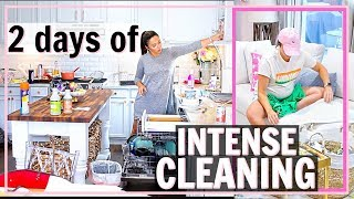 😵2 DAYS OF EXTREME CLEANING!🏡ULTIMATE Whole House CLEANING MOTIVATION!🤦🏻♀️| Alexandra Beuter