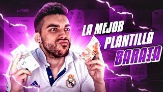 LA MEJOR PLANTILLA BARATA DE FIFA 17 !!