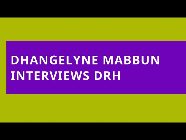 Interview with Dhangelyne Mabbun