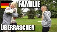 Familie überraschen nach 1 Jahr Weltreise • Rückkehr nach Deutschland   VLOG #145