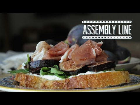 Fig And Prosciutto Sandwich | Assembly Line