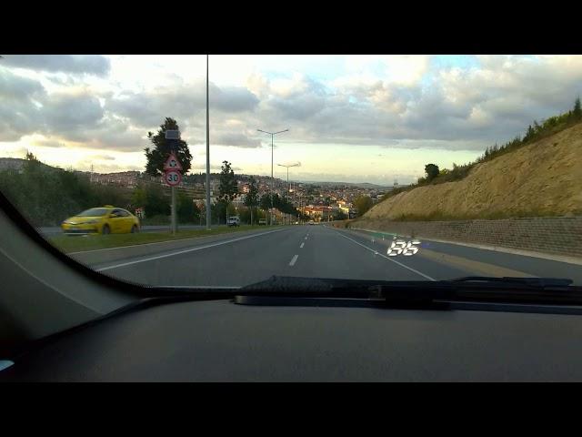 Head-Up Display İncelemesi ve Montajı (Araba Ön Camına Hızı , Devri , Sıcaklığı Yansıtın..!)