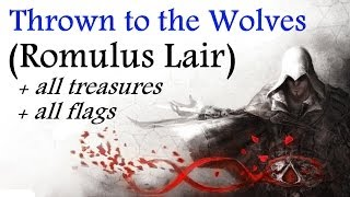 """Assassin's Creed: Brotherhood"", walkthrough (100% sync), Romulus Lair: Thrown to the Wolves"