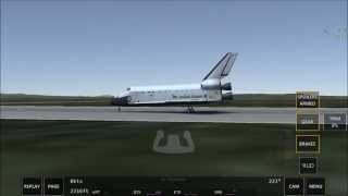 Landing the Space Shuttle for the very first time - Infinite Flight