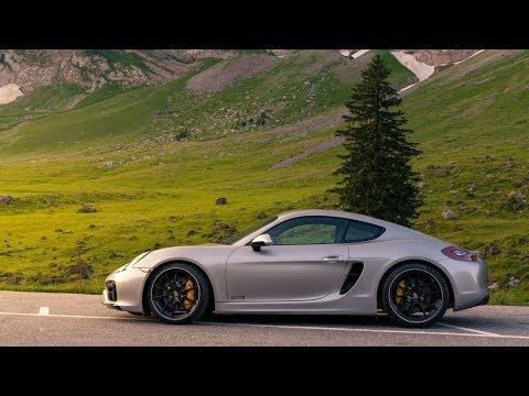 Early Morning Schwägalp Pass Descent - Porsche Cayman GTS
