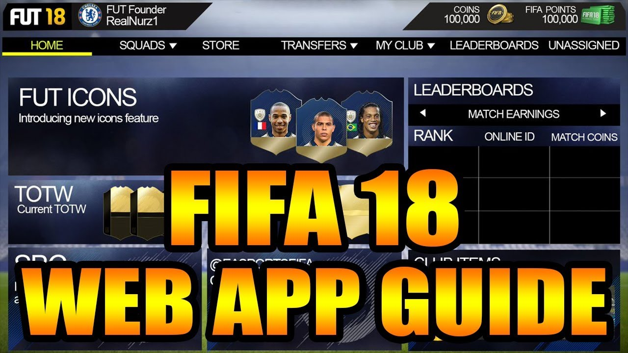 fifa 18 ultimate team coins guide