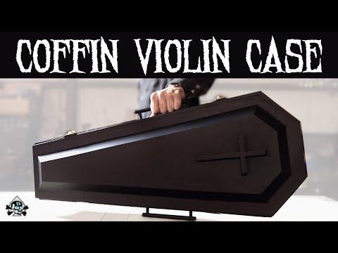 Secret Vampire Coffin Violin Case